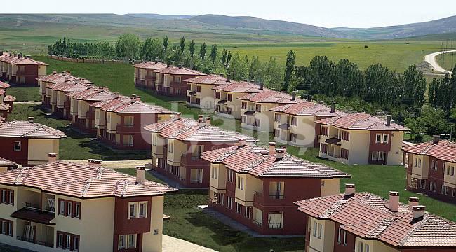 Bölükyazı (Masara) Köyüne 265 konut yapılacak