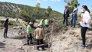 Çatalbadem'de kazı çalışmaları başladı