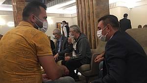 CHP heyeti madencilerle görüştü