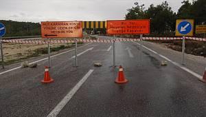 Heyelan nedeniyle kapanan Karaman-Silifke yolu trafiğe açıldı