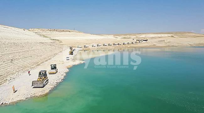 İbrala Barajında iyileştirme çalışmaları devam ediyor