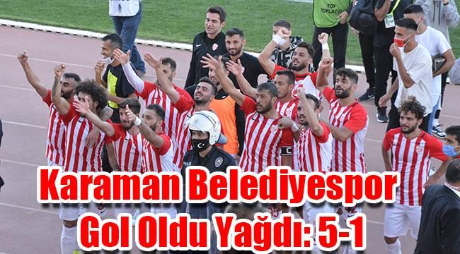 Teknik direktör değişikliği Karaman Belediyespor'u şaha kaldırdı: 5-1