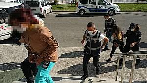 Karaman'da gardiyanı silahla yaralayan kadın tutuklandı