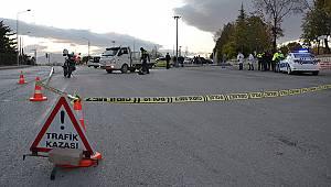 Karaman'da Hafif Ticari Aracın Çarptığı Yaya Ağır Yaralandı