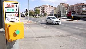 Karaman'da Kazaların Yaşandığı Bölgelere Trafik Işıkları Konuldu