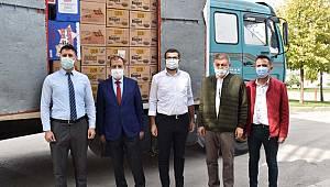 Karaman OSB Müdürlüğünden sağlık çalışanlarına destek