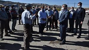 Karaman Valisi Işık Köylülerin Sorunlarını Dinledi
