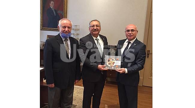 KAREV'den Cumhurbaşkanlığı İdari İşler Başkanı Kıratlı'ya Ziyaret