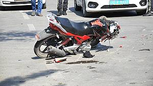 Kazada ağır yaralanan motosiklet sürücüsü hayatını kaybetti