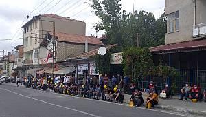 Madencilerin eylemi devam ediyor