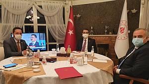 Milletvekilleri, maden işçilerinin sorunlarını Bakan Dönmez'e anlattı