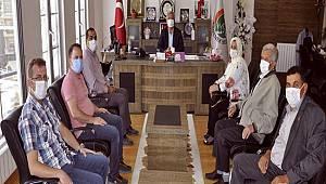 Muhtarlardan Ermenek Belediyesine ziyaret