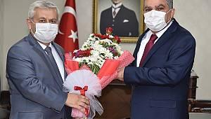 Muhtarlardan Vali Mehmet Alpaslan Işık'a ziyaret