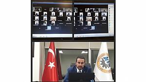 Müşterek Meslek Komiteleri Toplantısı Video Konferans Şeklinde Yapıldı