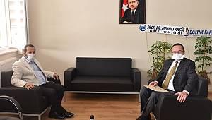 Rektör Akgül'den Dekan Ertekin'e Hayırlı Olsun Ziyareti