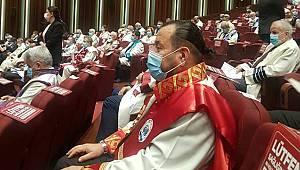 Rektör Akgül, YÖK 2020-2021 Akademik Yıl Açılış Törenine katıldı