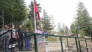 Şehit pilotun mezarı koruma altına alındı