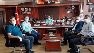 Takar Esnaf Odaları Birliğini ziyaret etti