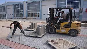 TEKMARSAN'da üst yapı çalışmaları başladı