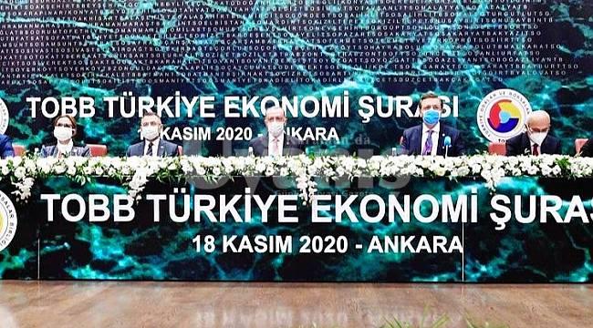 Alkan, TOBB Türkiye Ekonomi Şurası'na Katıldı
