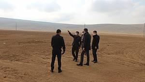 Ayrancı''da Köy Arazileri Yerinde İncelendi