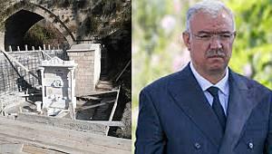 AK Parti İl Başkanı Çağlayan: Bugün duvar ören yarın o duvarı korumak içinde dere yatağını değiştirmek ister