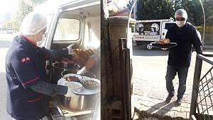 Karaman Belediyesi'nden 300 Haneye Her Gün 2 Öğün Sıcak Yemek