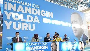 Karaman'da AK Parti'nin 7. olağan kongresi yapıldı
