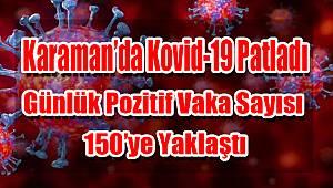 Karaman'da da kovid-19 artışı yaşanıyor
