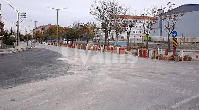 Karaman'da Trafik Akışının Yoğun Olduğu Kavşaklarda Çalışmalar Sürüyor