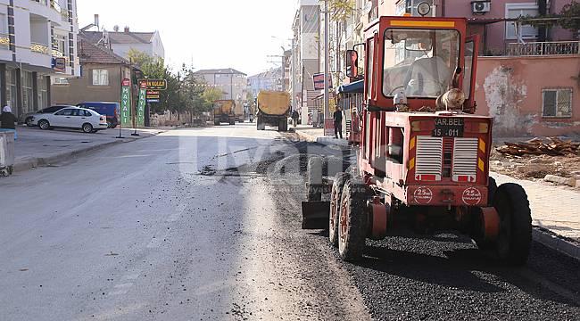 Karaman'da Zembilli ve Kırbağı Mahallesinde kapsamlı çalışma