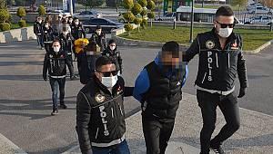 Karaman polisinden büyük uyuşturucu operasyonu: 9 gözaltı