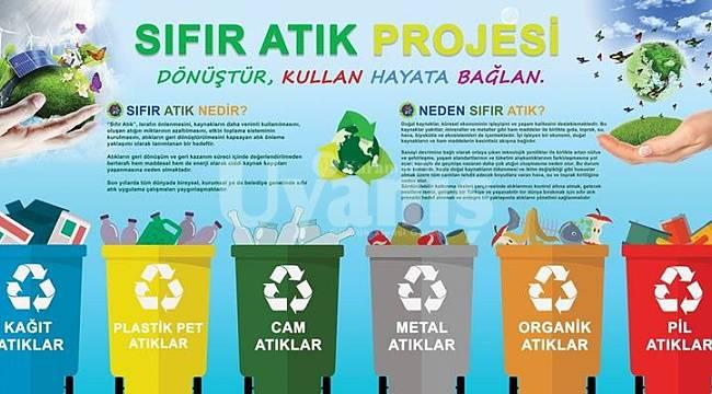 KMÜ'den sıfır atık projesine destek