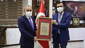 Kütahya Belediye Başkanı Işık'tan Karaman Belediyesi'ne ziyaret
