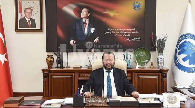 Rektör Akgül'den Dünya Diş Hekimleri Günü Mesajı