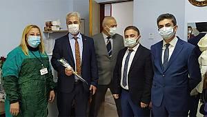 Sağlık İl Müdürü Kurşun'dan Diş Hastanesine anlamlı ziyaret