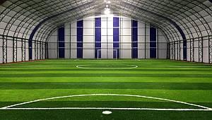 Spor salonu ve halı saha yapımı için ödenek çıktı