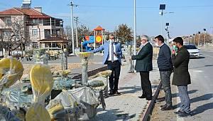 Ayrancı'da Peyzaj Çalışmaları Sürüyor