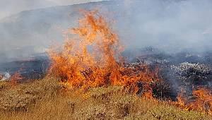 Karaman'da bahçedeki otları yakarken yanan kadın hayatını kaybetti