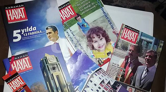 Karaman Hayat Dergisi yayın hayatına döndü