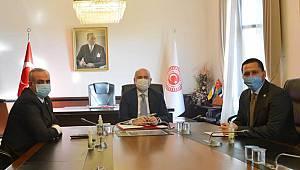 Vekiller, Karaman'ın Yeni Ulaşım Yatırımlarını Bakan Karaismailoğlu'na İletti