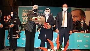 AK Parti Karaman Kadın Kolları Başkanlığına Coştu Yeniden Seçildi
