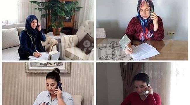 AK Parti Karaman Teşkilatı sağlık çalışanlarını unutmadı
