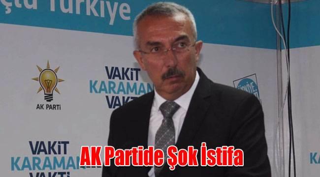 AK Partide Şok İstifa