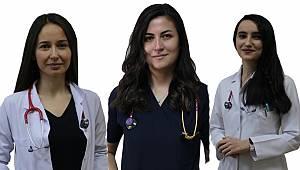 Karaman'a Atanan 3 Yeni Doktor Göreve Başladı