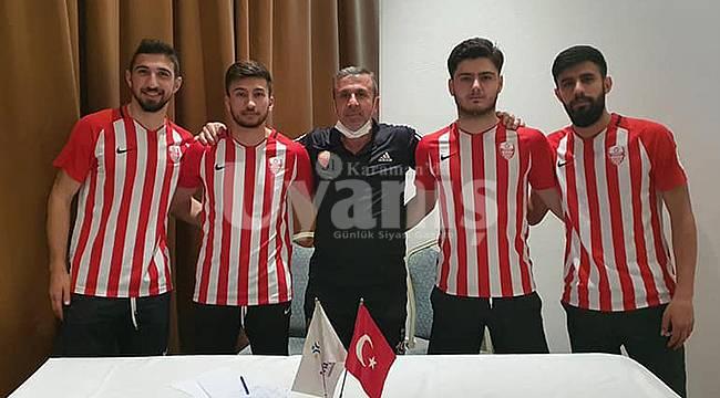 Karaman Belediyespor 4 transfer birden açıkladı