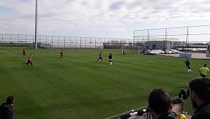 Karaman Belediyespor hazırlık maçını kazandı