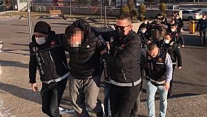 Karaman'da adliyeye sevk edilen 11 zanlı tutuklandı