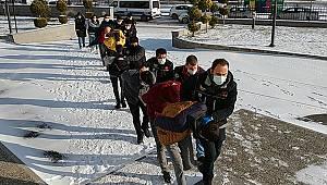 Karaman'da adliyeye sevk edilen 9 şüpheliden 8'i tutuklandı