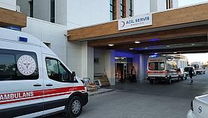 Karaman'da hasta yakınları güvenlik görevlisini bıçakladı